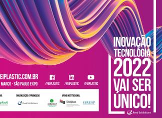 Em 2022 a FEIPLASTIC - INOVAPLASTIC promete ainda mais inovação